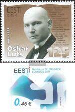 Estonia 719,720 (completa.edición.) nuevo con goma original 2012 Luts, Censo