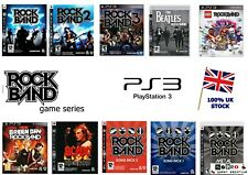 PS3 Rockband juego serie-Rock Band Lego The Beatles Green Day 2 3 etc.