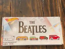 Hot Wheels The Beatles Boxed 5-Car Premium Set  Unopened