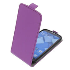 Funda para Alcatel one touch Pop C7 Tipo Flip Funda protectora con tapa Púrpura