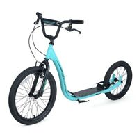 Osprey BMX Scooter - All Terrain Hybrid Scooter - Blue