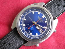 Seiko Vintage 6139-6019 Stainless Steel Automatic Day/Date Chronograph Watch