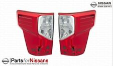 Genuine Nissan 2016-2018 Titan XD Tail Light Lamp Set Pair NEW OEM