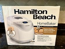 Hamilton Beach Home Baker 2 LB Digital Bread Maker Model# 29881 New