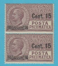 ITALY D10  MINT NEVER HINGED PAIR  OG EXTRA FINE