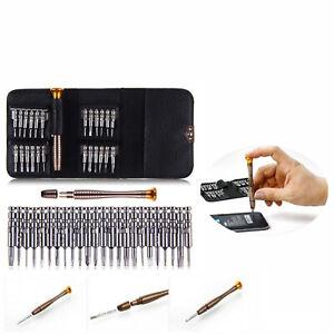 25 in 1 Feinmechaniker Schraubendreher Mini Set Werkzeugset Für PC Handy Brillen