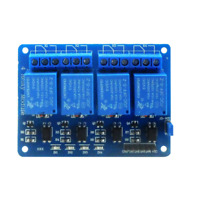 4 Channel DC 5V Relay Module with Optocoupler for Arduino UNO R3 MEGA 2560 1280
