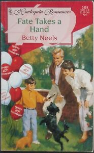 Vintage Harlequin Romance, 3454, Fate Takes A Hand, Betty Neels