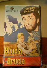 BRUCIA RAGAZZO BRUCIA - LUCIO DALLA - S.SCOTTI-G.MACCHIA - VIDEOCASETTA VHS