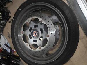 yamaha XJ900 DIVERSION front wheel & tyre rim both discs box 188