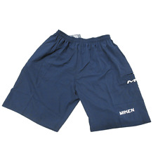 Miken Microfiber Shorts NAVY LARGE new
