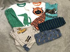 Boys Gymboree Crazy 8 Pj Pajamas Lot 8 10 Ls Ss Shirts Pants outfit set summer