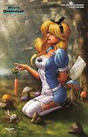 Zenescope GFT Alice In Wonderland #1 Comic-Central.com Nice Exclusive LTD 500