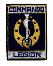 French Foreign Legion 2e REI Commando cloth badge