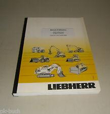 Manuel d'utilisation Liebherr A 904 C-Litronic Bagger ab Serie 25567, Stand 2005