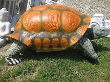 RIESENSCHILDKRÖTE Schildkröte 105 cm XXL witterungsbeständig Gartenfigur Neu