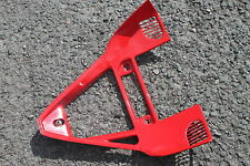 DUCATI 999S 999 749 RED FAIRING FRONT LOWER JOINING V PIECE