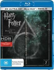 HARRY POTTER & DEATHLY HALLOWS PART 2  BLU RAY (4K ULTRA) - Sealed Region B