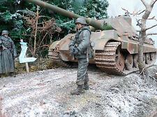 Diorama 1:16 RC Panzer 2 3 4 Königstiger Tiger1 Henglong Panther T34 M26 Sherman