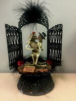 Love never Dies Halloween Wedding Cake Topper Funny Skeleton Bride Groom top