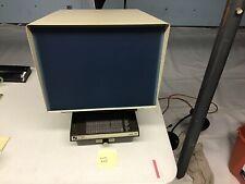 Vintage Northwest Microfilm Model #14 Microfiche Reader.working Lot#205