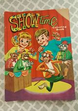"Vintage Unused  ""Show Time Coloring Book"" B64-48"