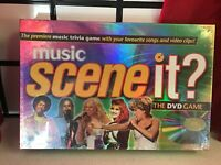 Scene It Music The Dvd Trivia Game Brand New & Sealed - Family Fun Party Games