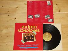 LP RODGAU MONOTONES - WIR SEHN UNS VOR GERICHT - MEIN FREUND HARVEY - HYPNOSE