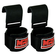 MRX Power Weight Lifting Training Gym Straps Hook Bar Wrist Support Lift Wraps
