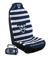 OFFICIAL  AFL CAR SEAT COVERS x 2 - GEELONG - FITS 2 BUCKET SEATS