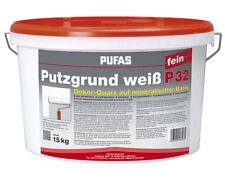 (2,13 EUR/kg) PUFAS Putzgrund weiß P 32 fein weiß 15kg