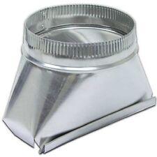 Lambro 122 Aluminum Transition, 3 1/4-Inch x 10-Inch to 6-Inch