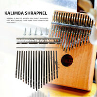 Thumb Piano 17 Keys with 5 Screws for Kalimba DIY Replacement Parts Musical