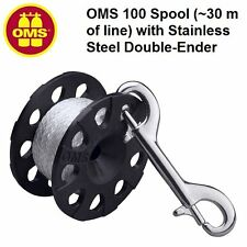 OMS 100 Spool (~30 m of line) with Stainless Steel Double-Ender 24318002 Reels