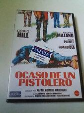 "DVD ""OCASO DE UN PISTOLERO"" PRECINTADO RAFAEL ROMERO MARCHENT CRAIG HILL JOSE"