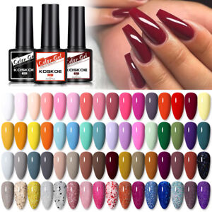 KOSKOE 8ml Nagel Gellack UV Gel Nail Polish Nail Art Soak off Glitzern Nagellack