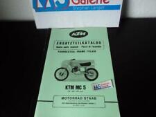 KTM MC 5 125 250 400 Ersatzteilkatalog part list Fahrgestell Chassis 1976 HA5