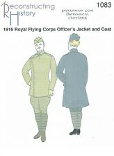Schnittmuster RH 1083 Paper Pattern: 1916 Royal Flying Corps Officer Coat