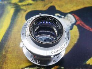 Kodak Ektar 47mm f2 M39 LTM mount modified lens for Leica screw mount