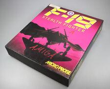 """F-19 stealth Fighter Amiga 3,5"""" disquettes version"""