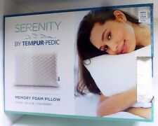 Serenity by Tempur-Pedic Memory Foam Bed Pillow, New, Free Ship