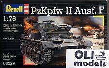 1/76 1/72 PzKpfw II Ausf.F w/Diorama base - Revell 3229