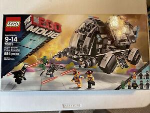 LEGO Movie 70815 Super Secret Police Dropship New 8 Great Minifigures Batman