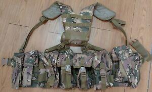 British Army style Airborne MTP MULTICAM PARA assault Webbing set - cadets