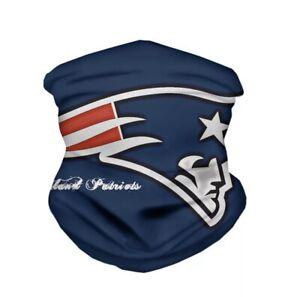 New England Patriots Neck Gaiter NFL Football Face Mask Bandanna Scarf Sport