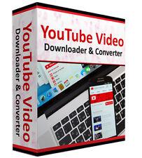 YouTube Downloader convertidor de archivos de vídeo y aplicación de software para Windows XP 10 8 7