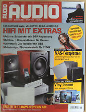 Audio 5/11 Audiolab 8200 CDQ, ATC SCM 11, KEF Q300, Resolution Cantata C50, AVM