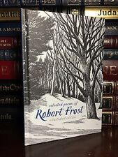 Robert Frost Selected Illustrated Poems Brand New Hardcover Two Roads Diverged