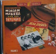 Makeba, Miriam - Miriam Makeba And The Skylarks Vol.2 CD Very Good Condition