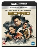 Sicario [4K UHD + Blu-ray] [2018] [DVD][Region 2]